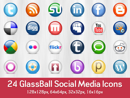 45 Fresh Collection Of Free Icon Sets Available In PSD Format 11