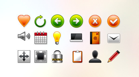 45 Fresh Collection Of Free Icon Sets Available In PSD Format 19