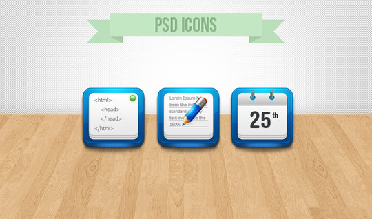 45 Fresh Collection Of Free Icon Sets Available In PSD Format 9