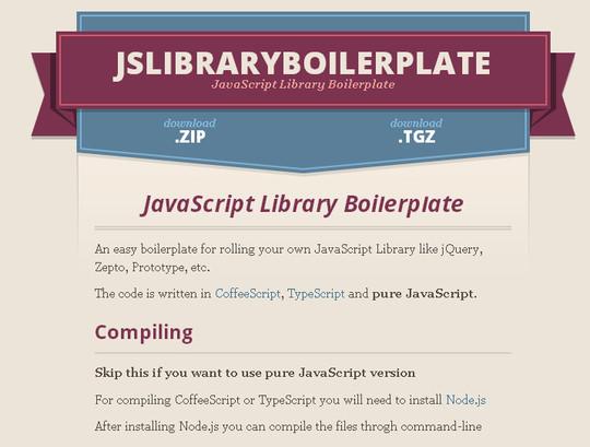 14 Useful JavaScript Libraries And Tools 9