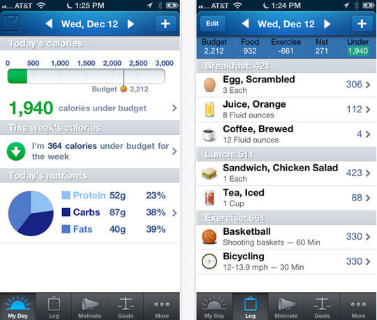 20 Free iPhone Apps To Lose Weight 1