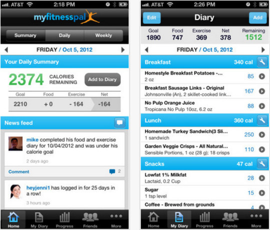 20 Free iPhone Apps To Lose Weight 16