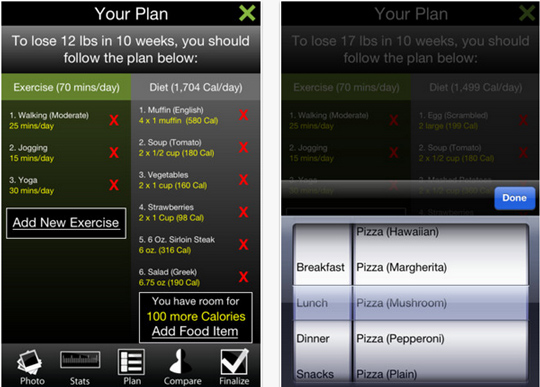 20 Free iPhone Apps To Lose Weight 20