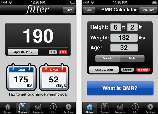 20 Free iPhone Apps To Lose Weight 3