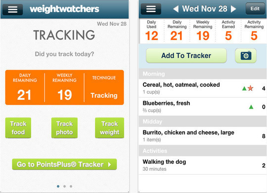 20 Free iPhone Apps To Lose Weight 4