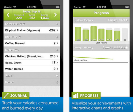 20 Free iPhone Apps To Lose Weight 8