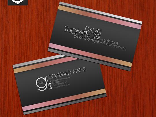 45+ Free PSD Business Card Templates 20