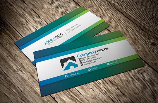 45+ Free PSD Business Card Templates 19