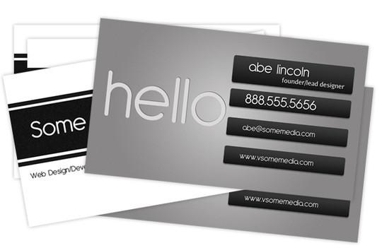 45+ Free PSD Business Card Templates 24