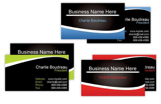 45+ Free PSD Business Card Templates 29