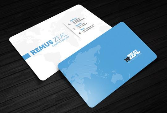 45+ Free PSD Business Card Templates 10