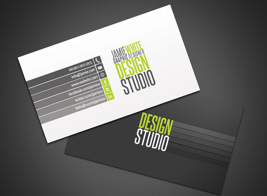45+ Free PSD Business Card Templates 30