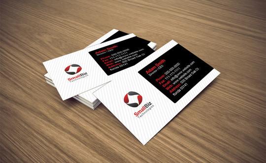 45+ Free PSD Business Card Templates 33