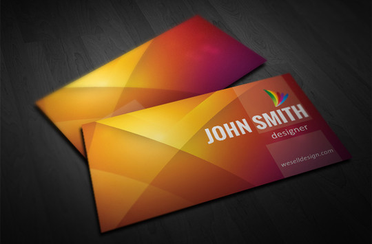 45 Free Psd Business Card Templates
