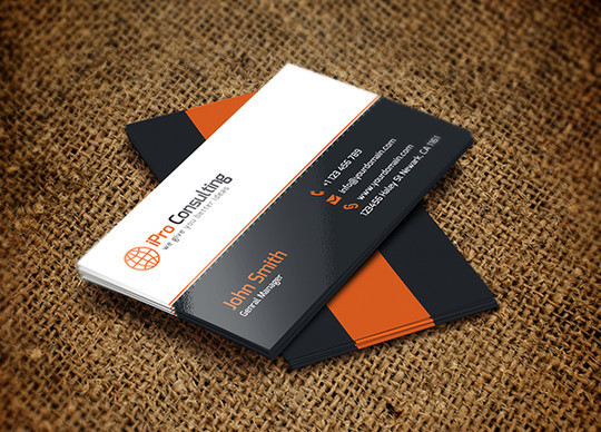 45+ Free PSD Business Card Templates 34