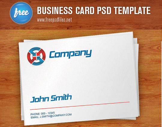 45+ Free PSD Business Card Templates 38