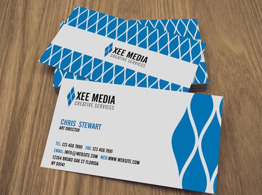 45+ Free PSD Business Card Templates 4