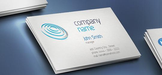 45+ Free PSD Business Card Templates 25