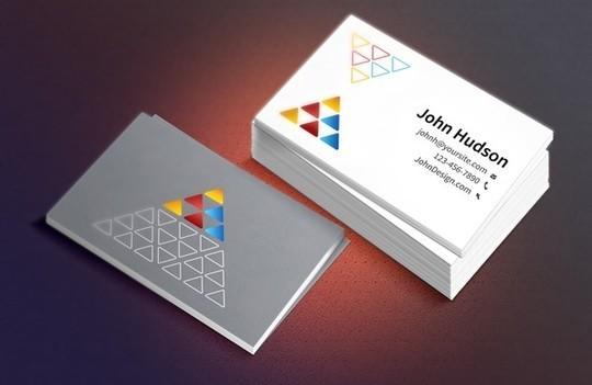 45+ Free PSD Business Card Templates 39
