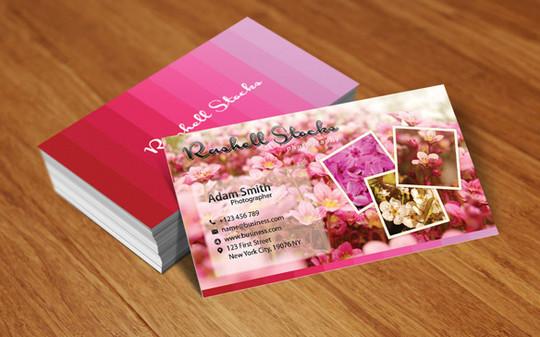 45+ Free PSD Business Card Templates 7