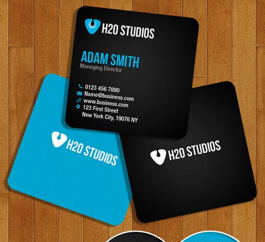 45+ Free PSD Business Card Templates 42