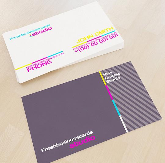 45+ Free PSD Business Card Templates 43