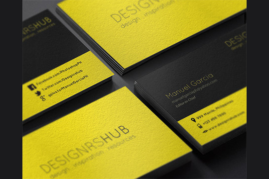 45+ Free PSD Business Card Templates 44