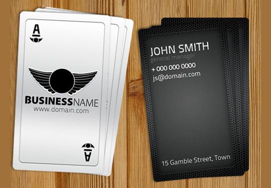 45+ Free PSD Business Card Templates 46