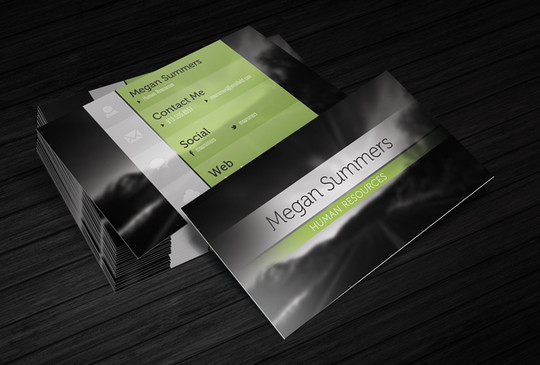 45+ Free PSD Business Card Templates 13