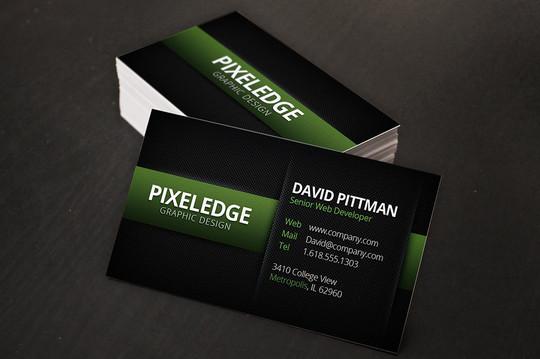 45+ Free PSD Business Card Templates 14