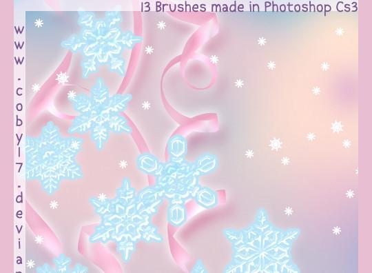 45 Awesome Swirl And Ribbon Photoshop Brushes 14