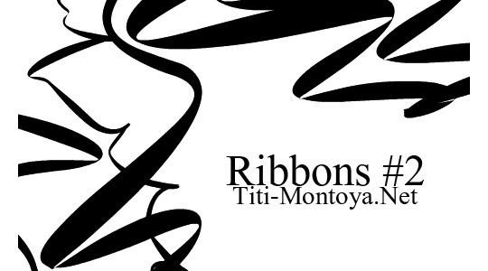45 Awesome Swirl And Ribbon Photoshop Brushes 16