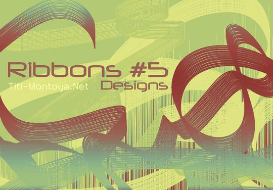 45 Awesome Swirl And Ribbon Photoshop Brushes 18