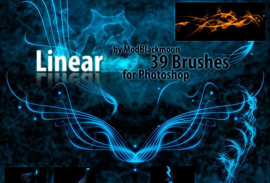 45 Awesome Swirl And Ribbon Photoshop Brushes 42