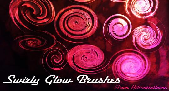 45 Awesome Swirl And Ribbon Photoshop Brushes 34