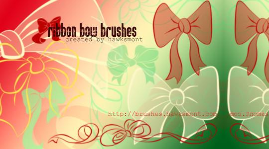 45 Awesome Swirl And Ribbon Photoshop Brushes 9