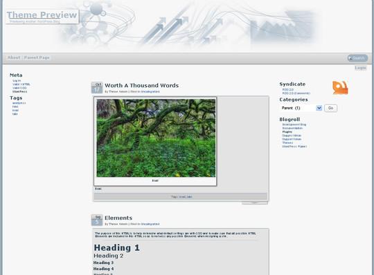 40 Beautiful 3 Column WordPress Themes For Free Download 18