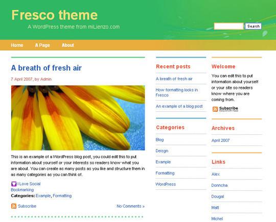 40 Beautiful 3 Column WordPress Themes For Free Download 19