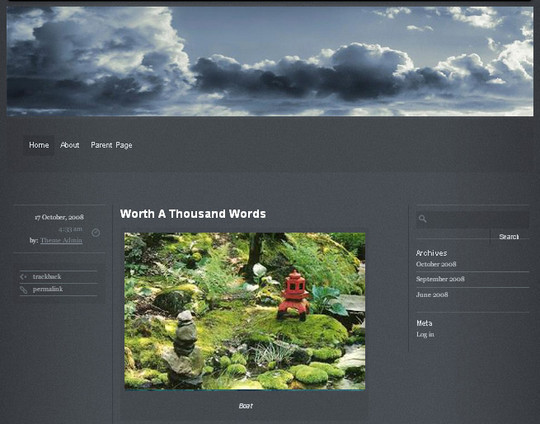40 Beautiful 3 Column WordPress Themes For Free Download 21