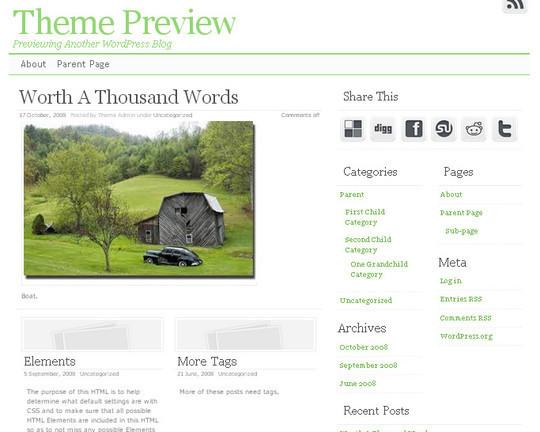 40 Beautiful 3 Column WordPress Themes For Free Download 22