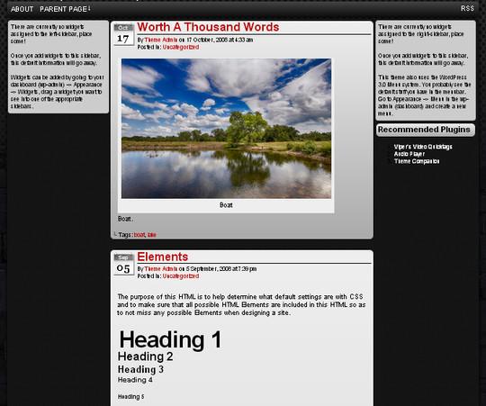 40 Beautiful 3 Column WordPress Themes For Free Download 23