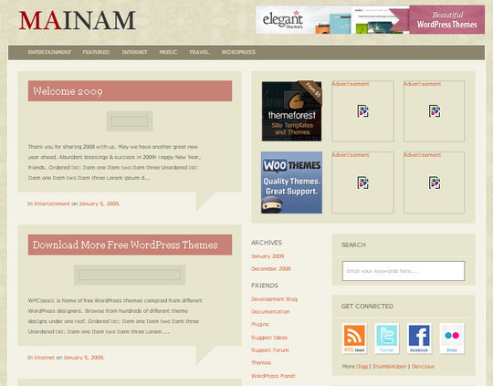 40 Beautiful 3 Column WordPress Themes For Free Download 24