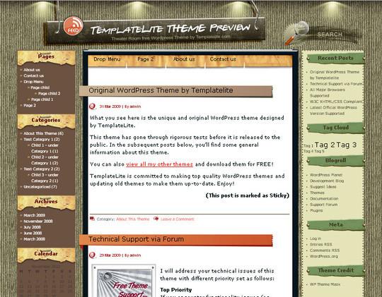 40 Beautiful 3 Column WordPress Themes For Free Download 25