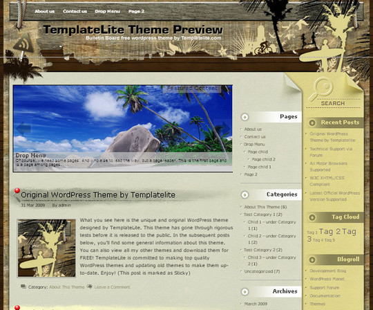 40 Beautiful 3 Column WordPress Themes For Free Download 26
