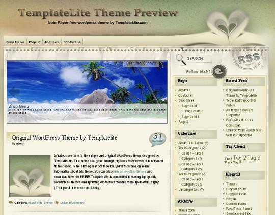 40 Beautiful 3 Column WordPress Themes For Free Download 33