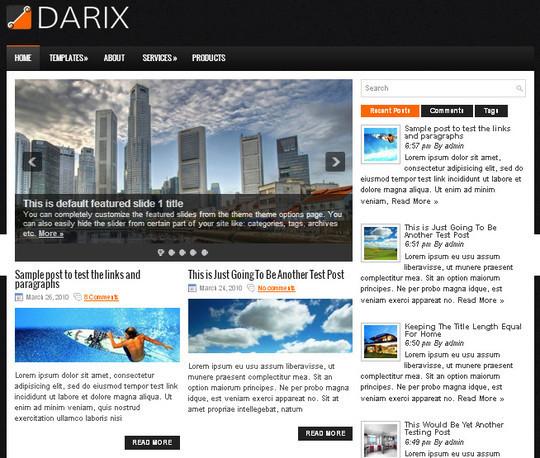 40 Beautiful 3 Column WordPress Themes For Free Download 14