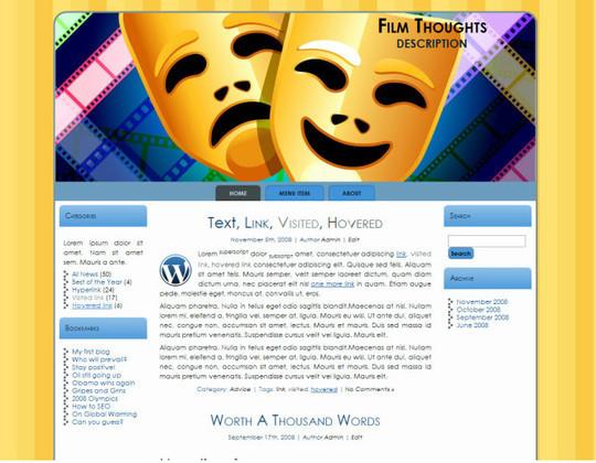 40 Beautiful 3 Column WordPress Themes For Free Download 27