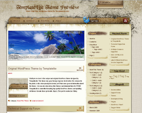 40 Beautiful 3 Column WordPress Themes For Free Download 31