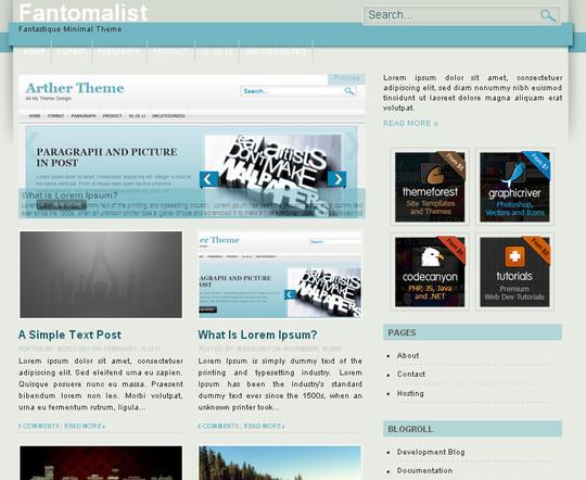 40 Beautiful 3 Column WordPress Themes For Free Download 34