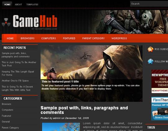 40 Beautiful 3 Column WordPress Themes For Free Download 15